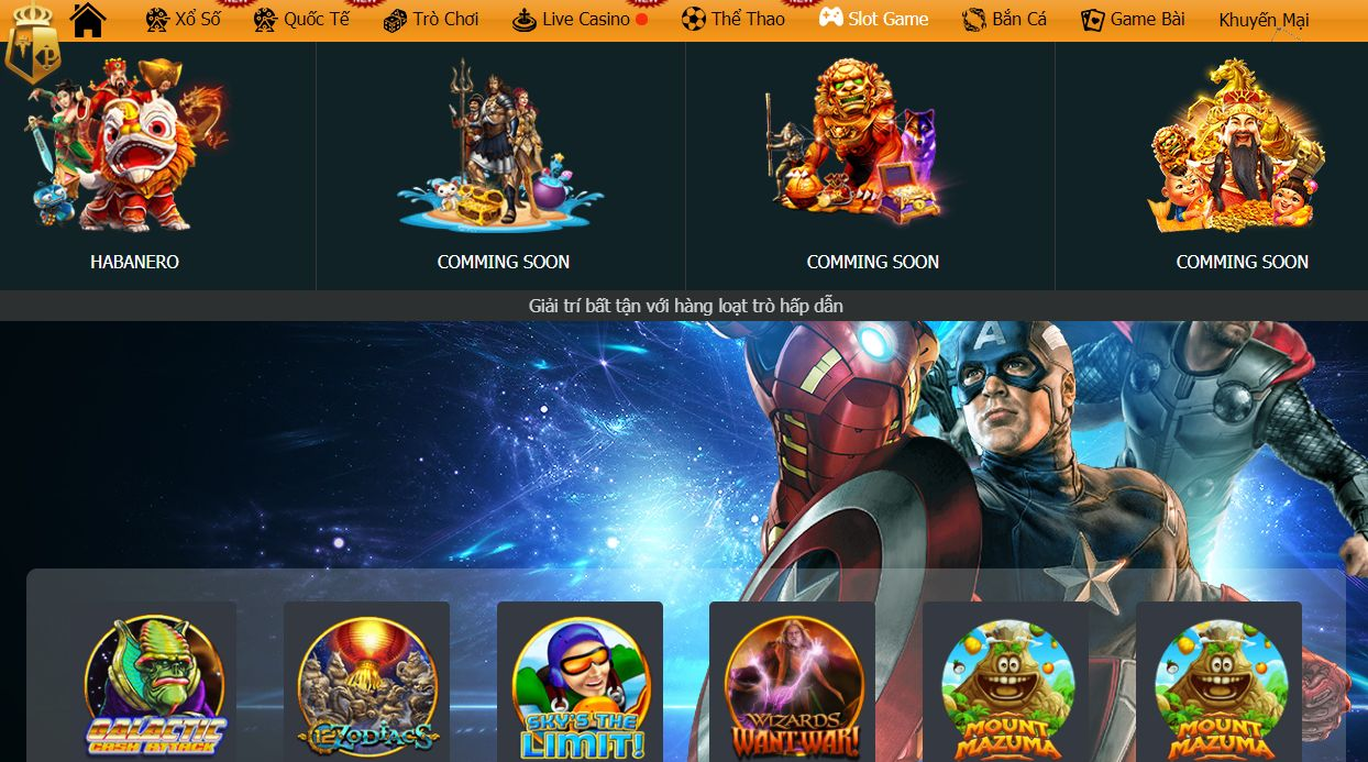 Giao diện game slot typhu88 sắp ra mắt