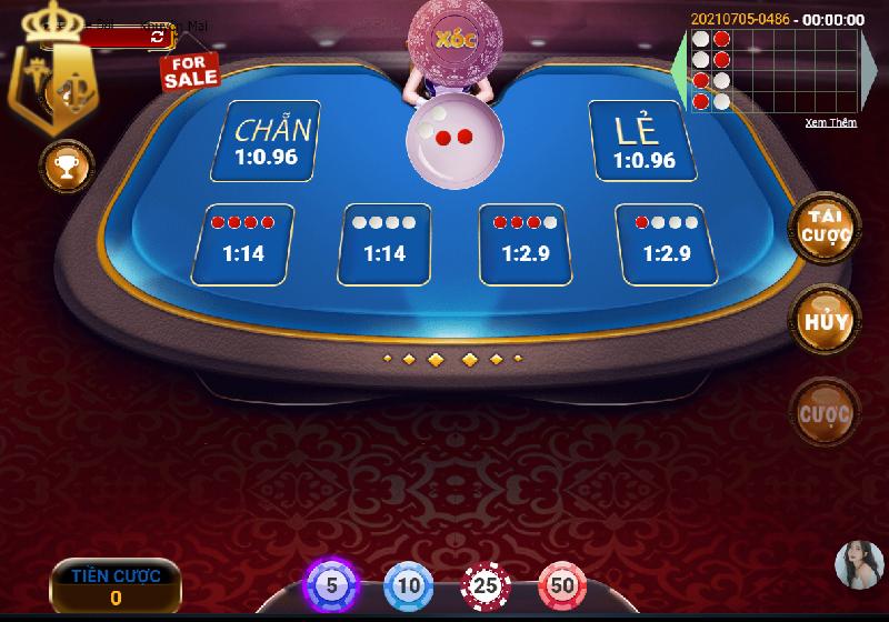 Bàn chơi xóc đĩa đổi thưởng online typhu88