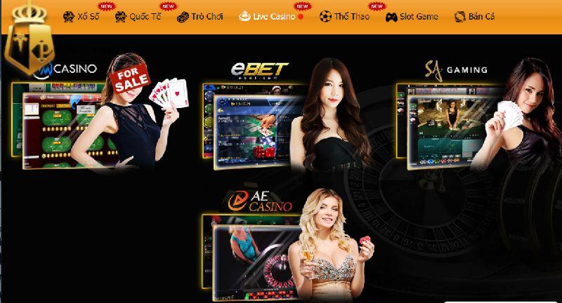 Trực tiếp game ở các casino typhu88