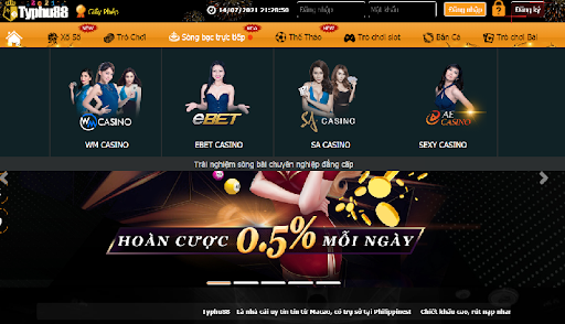 Kênh Casino Live của Typhu88